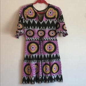 Vintage 70s knit mini dress